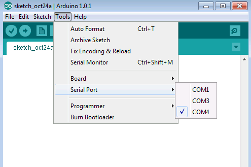 Send a float number to Arduino Target Serial Receive